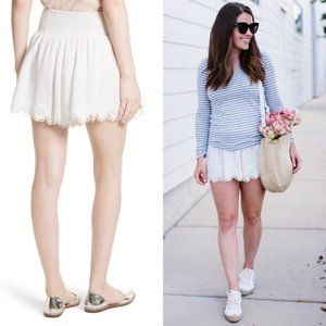 Rebecca Taylor Embroidered Shorts